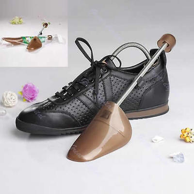1Pair Plastic Men Shoes Fixed Fits Support Stretcher Shaper Spring Shoe Trees