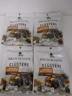 Brookside Crunchy Clusters Almonds & Berry Flavor in Dark Chocolate Four 5 oz pk