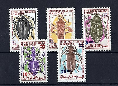 Mauritania Insect Set of 5 Values SG433/437 Mint MH X3916