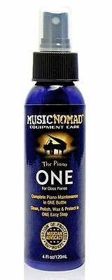 Music Nomad The Piano One - All-in-One Cleaner, Polish and Wax for GLOSS Pianos