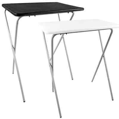 Folding Lightweight Tray Table Desk Ideal For Laptops Camping TV Dinner