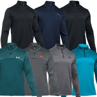 Under Armour 2017 Mens Armour Fleece Icon 1/4 Zip Pullover ColdGear Sweater