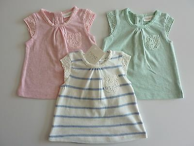 NEXT 3 Gorgeous Little Girls Tops NWT