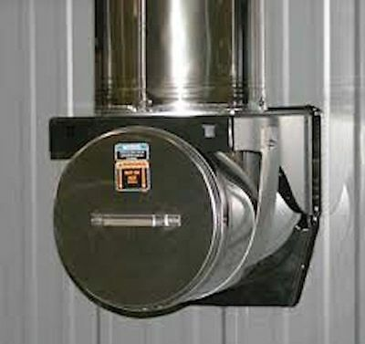 """Central Boiler E-Classic/Classic Stainless Steel Tee 8"""" Outdoor Wood  #2500433"""