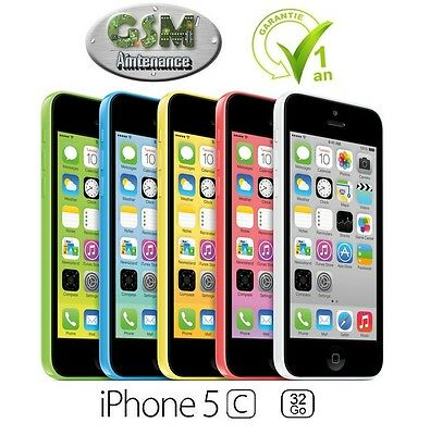 Smartphone Apple iPhone 5c - 32 Go - Divers Couleurs