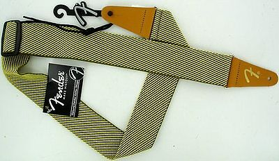 Fender Tracolla Tweed Strap 0990687000 guitar bass chitarra