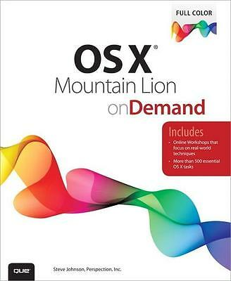 OS X Mountain Lion on Demand, Steve Johnson