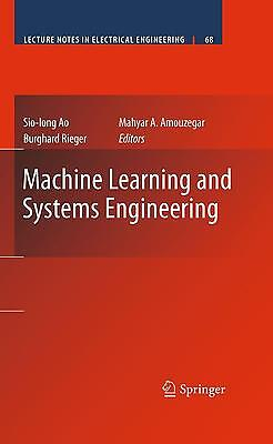 Machine Learning and Systems Engineering, Burghard Rieger