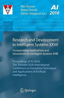 Research and Development in Intelligent Systems XXVII, Max Bramer