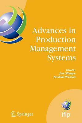 Advances in Production Management Systems, Jan Olhager
