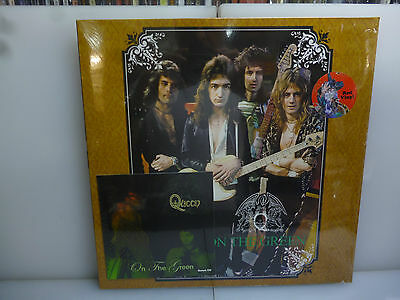 Queen-On The Green. London, Uk 1973-Red Vinyl Lp + Cd-New. Sealed