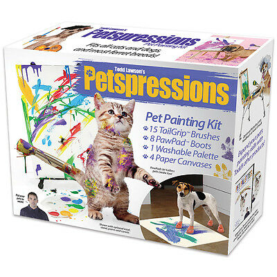 NEW Prank Gift Box Pet Paint Kit - Hide Your Real Present Inside This Silly Box