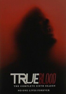 True Blood: The Complete Sixth Season - 4 DISC SET (2015, DVD NEW)