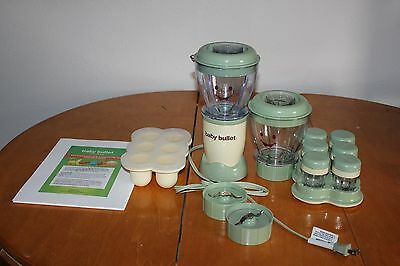 7 Piece Baby Bullet Blender System & Instruction