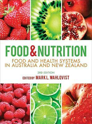 NEW Food and Nutrition by Mark Wahlqvist Paperback Book (English) Free Shipping