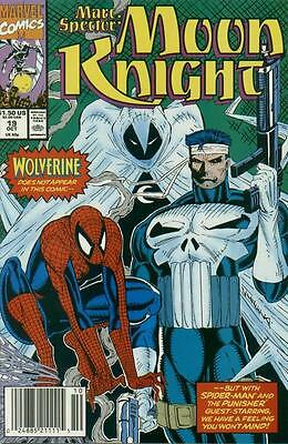 Marc Spector: Moon Knight #19 (Oct 1990, Marvel)
