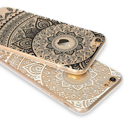 New Rubber Soft TPU Silicone Phone Back Case Cover for Apple iPhone 5 7 7 Plus 6