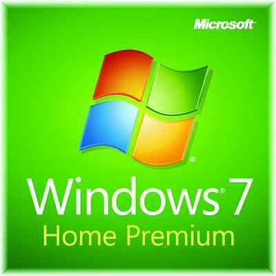 Windows 7 Home Premium 64 bit w/SP1 Install Restore Boot Recovery DVD Disk Disc