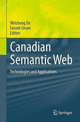 Canadian Semantic Web, Weichang Du