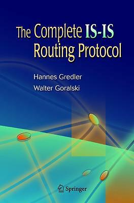 The Complete IS-IS Routing Protocol, Hannes Gredler