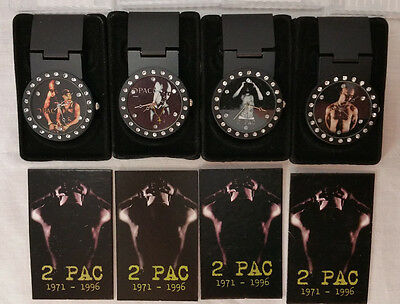 Tupac Shakur 2Pac Money Clip & Bling Watch 30 pc Minor Scratch Lot Sale