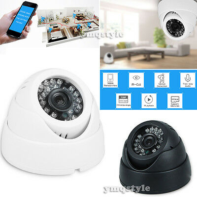 Wireless WiFi HD 720P IP Camera Home Security Network CCTV Night Vision Webcam