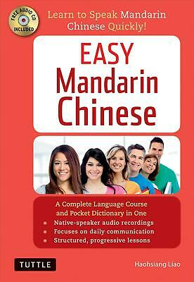 Easy Mandarin Chinese: Learn to Speak Mandarin Chinese Quickly! (Audio CD Includ
