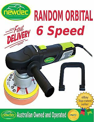 Polisher Car Buffer Orbital 150Mm Sander Electric Tools Variable Speed Pads Auto