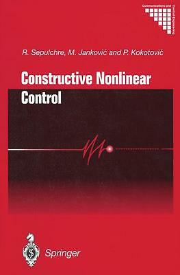 Constructive Nonlinear Control M. Jankovic