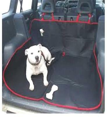 Car Pet dog travel boot protector liner mat cover hammock Estate rear seat thick