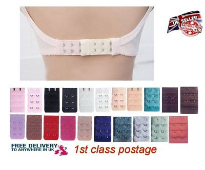 Women Bra Extender Strap Extention 17 Colors 2 Hooks 3 Rows Bra Set Accessories