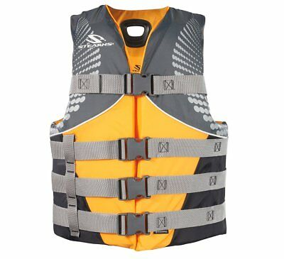 Stearns Personal Floatation Device Buoyancy Aid Life Vest Antimicrobial L/XL