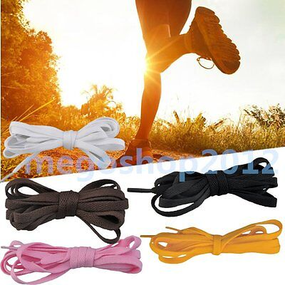 "Flat 47"" 55"" Athletic Shoe Laces Shoelaces BOOTLACES strings FOR Sneakers boot"