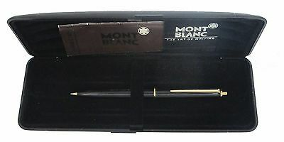 Montblanc Vintage Black  & Gold 0.5M Pencil  New  In Box
