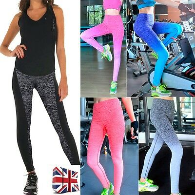 USPS New Women Running Yoga Pants Workout Legging Fitness Sport Gym Clothes S142