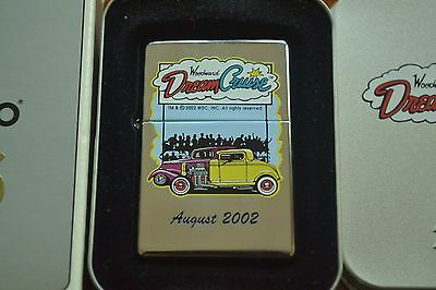 ZIPPO Lighter, Woodward Dream Cruise 2002, Rare, 1937 Vintage Series, New, M1243