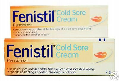 Fenistil Cold Sore Cream 2g Speedy Treatment