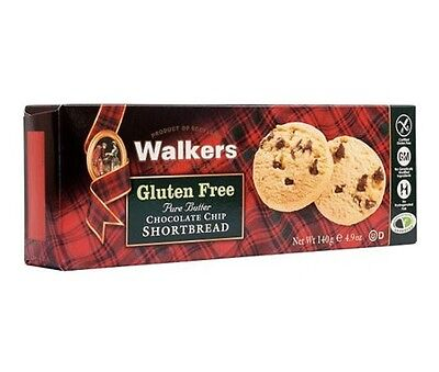 S3212-6 Pack GLUTEN FREE SHORTBREAD CHOCOLATE CHIP WALKERS