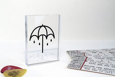 Bring Me The Horizon Umbrella Logo 'That's The Spirit' Clear Acrylic Block