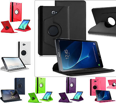 """Smart Rotating 360 Folio Stand Case Cover Fit For Galaxy Tab A 10.1"""" T580 T585"""
