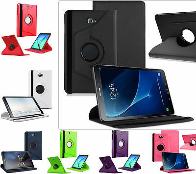 """Smart Rotating 360 Folio Stand Case Cover For Galaxy Tab A 10.1"""" T580 T585 Cover"""