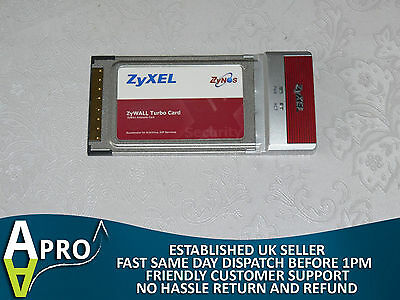 Zyxel Zywall Turbo Extension Card - Uk Seller