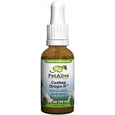 PetAlive Cushex Drops Pet Adrenal Health and Support (60ml) Cushing's Disease