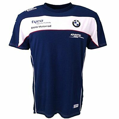 New BMW Tyco Superbikes Racing Team T-Shirt - Official Merchandise