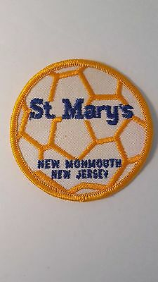 Vintage 80s 90s Soccer Patch St. Mary's Monmouth County NJ New Jersey Buy It Now