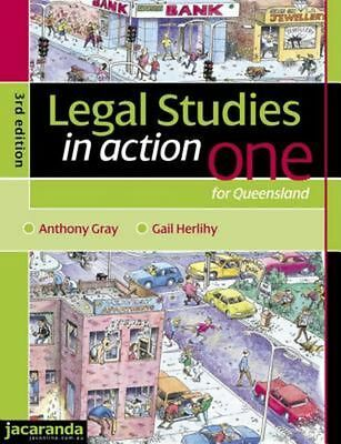 Legal Studies in Action One for Queensland 3E & eBookPLUS by Gail Herlihy Paperb