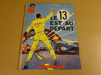 Bd Eo Hc Collection Du Lombard 1963 / Michel Vaillant - Le 13 Est Au Depart