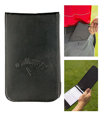 Callaway Golf Synthetic Leather Scorecard Holder Pro Holder as seen on the tour