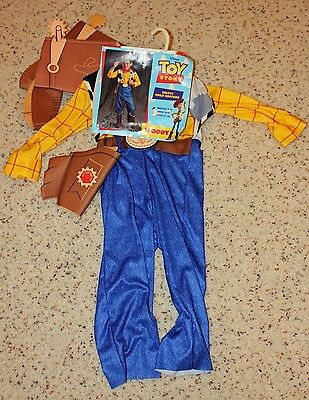 Toy Story Woody Halloween Costume Size Med (2-4)