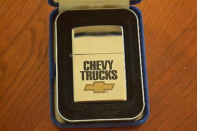 ZIPPO Lighter, Chevy Truck Bowtie, 250CH 993, Pol Chrome, XIII/1997 Sealed M1253